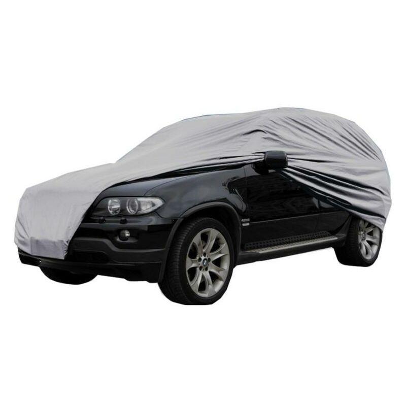 Peraline - HOUSSE DE PROTECTION VOITURE NYLON S (Longueur voiture 4.06 m) 406x165x119 cm