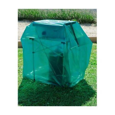 Housse bache de protection pour barbecue gaz 1 ou 2 plateau 150 x 60 x 150 cm