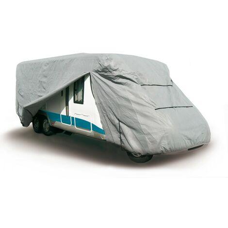 Housse Bache de protection pour camping car de 6.60m à 7.20m PVC