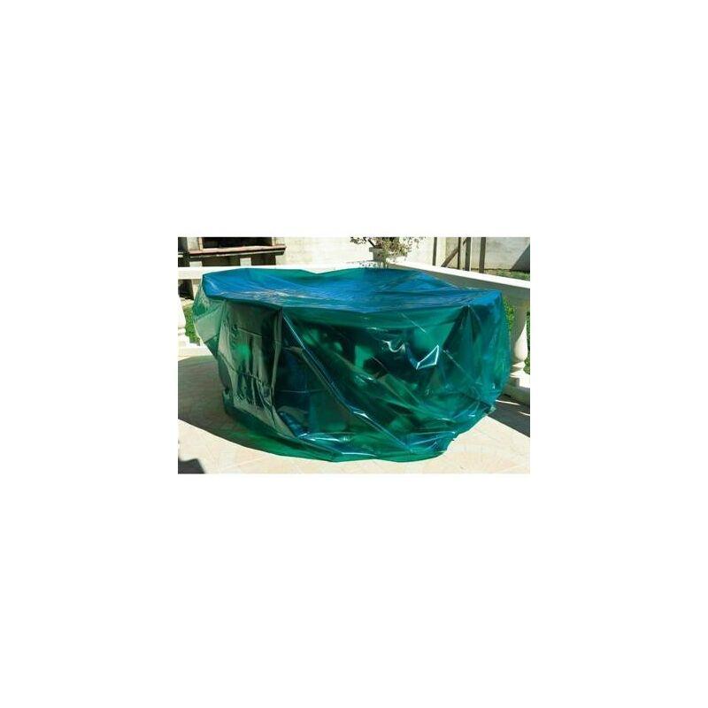Housse bache de protection pour table chaise de jardin 250 cm + 6 chaises