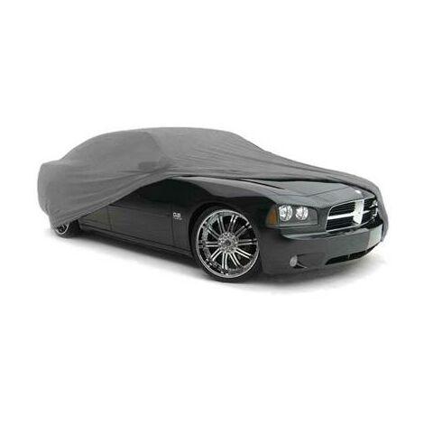 Housse bache de protection voiture PVC interieure tissé taille L