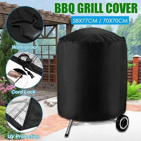 Housse Bache Housse Barbecue Pique-nique En Plein Air Etanche à Poussiere Pluie Protection UV70x70cm