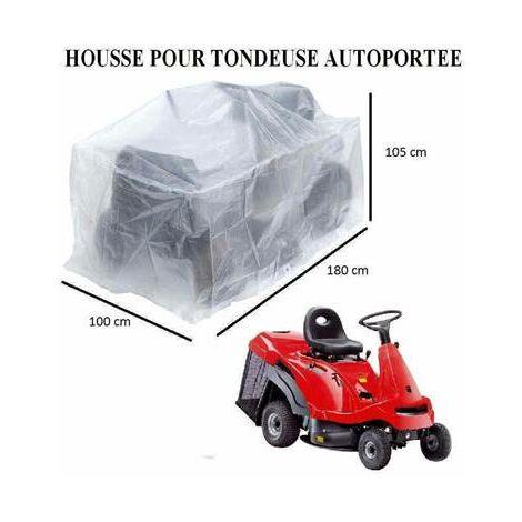 Housse bache protection pour tondeuse autoportée 180 x 100 x 105cm indechirable