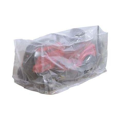 Housse bache protection pour tondeuse autoportée avec bac 250 x 110 x 110 cm indechirable