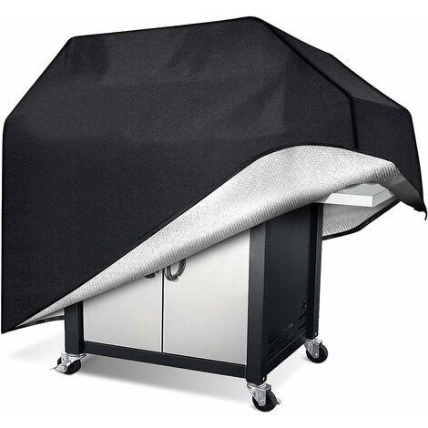 Housse Barbecue, Tissu Oxford Robuste, imperméable, Anti-poussière et Anti-UV, Couverture de Barbecue extérieure (170x61x117cm)