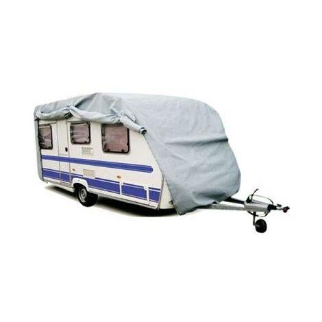 Housse caravane en PVC 160 grs/m² pour usage intensif 600x230x200 cm