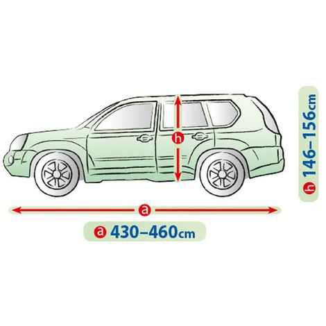 Housse carrosserie 4x4 et SUV L de 430 ˆ 460 cm