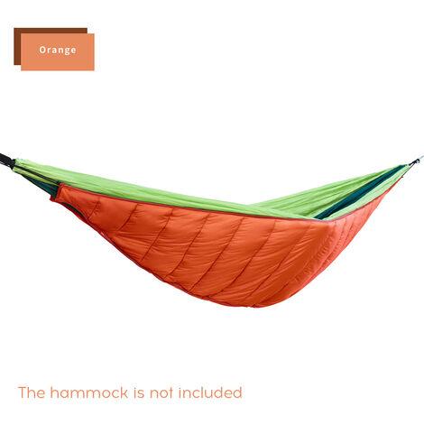 Housse Chaude Pour Hamac Epaissie, Housse De Hamac Chaude Et Coupe-Vent Pour Loisirs En Plein Air (Sans Hamac) Orange
