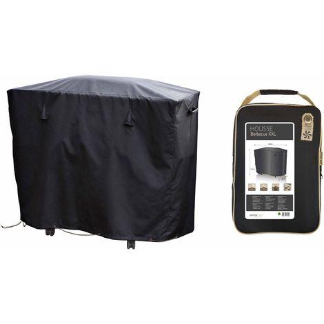 Housse de barbecue XXL 150 x 60 cm Premium - Noir