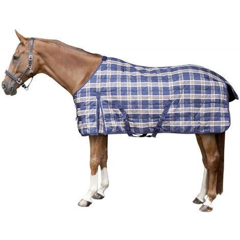 Housse de box d'hiver pour chevaux indéchirable 1200D CHECK HKM Classic