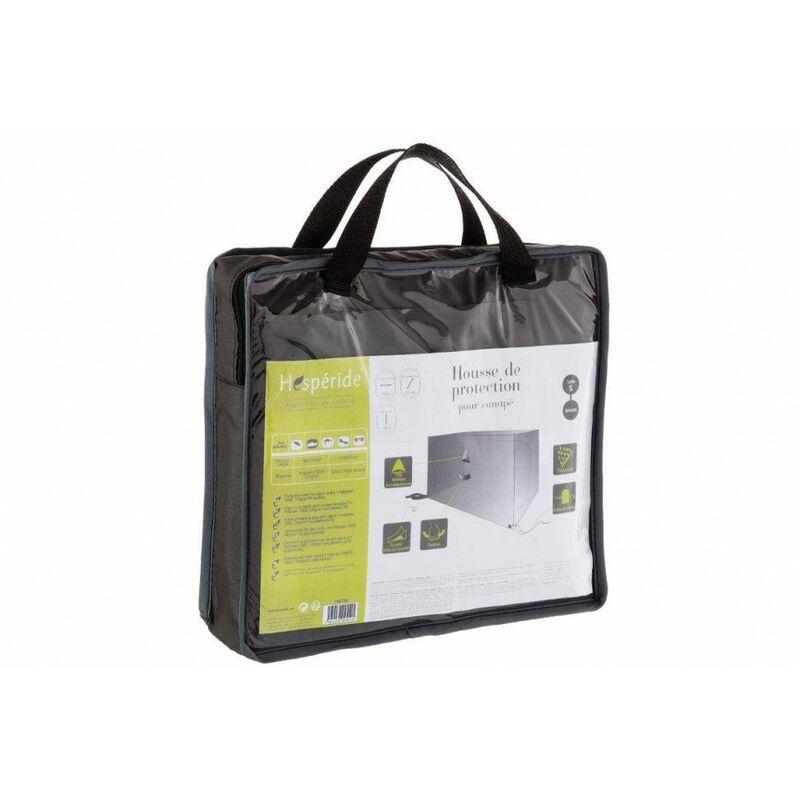 Housse de canapé taille S - L 160 cm x P 115 cm x H 100 cm - Polyester - Gris - Livraison gratuite