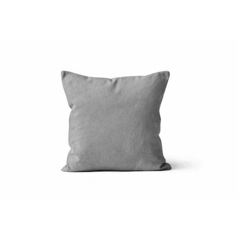 Housse de coussin Alix - 60 x 60 cm - Gris clair