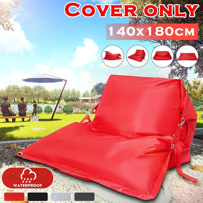 Manta - Housse de coussin de haricot géant oreiller de coussin de sol imperméable à l'eau paresseux canapé-lit jardin intérieur extérieur ?seulement