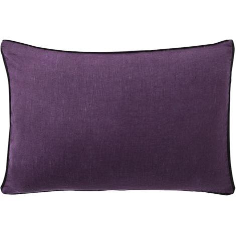 Housse de coussin Violet 50x50 Bâton Rouge 985845
