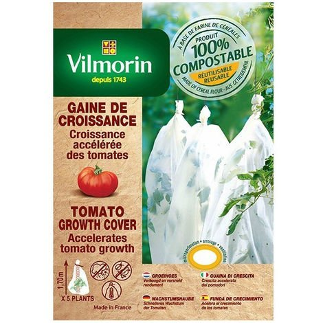 Housse de croissance pour tomates- farine de céréales - 25µm