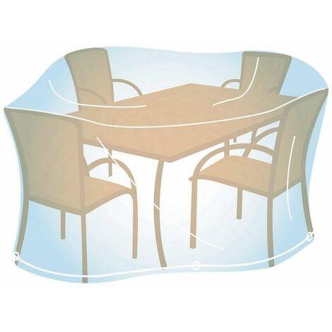 "main image of ""Housse de jardin rectangulaire/ovale Taille M - Transparent"""