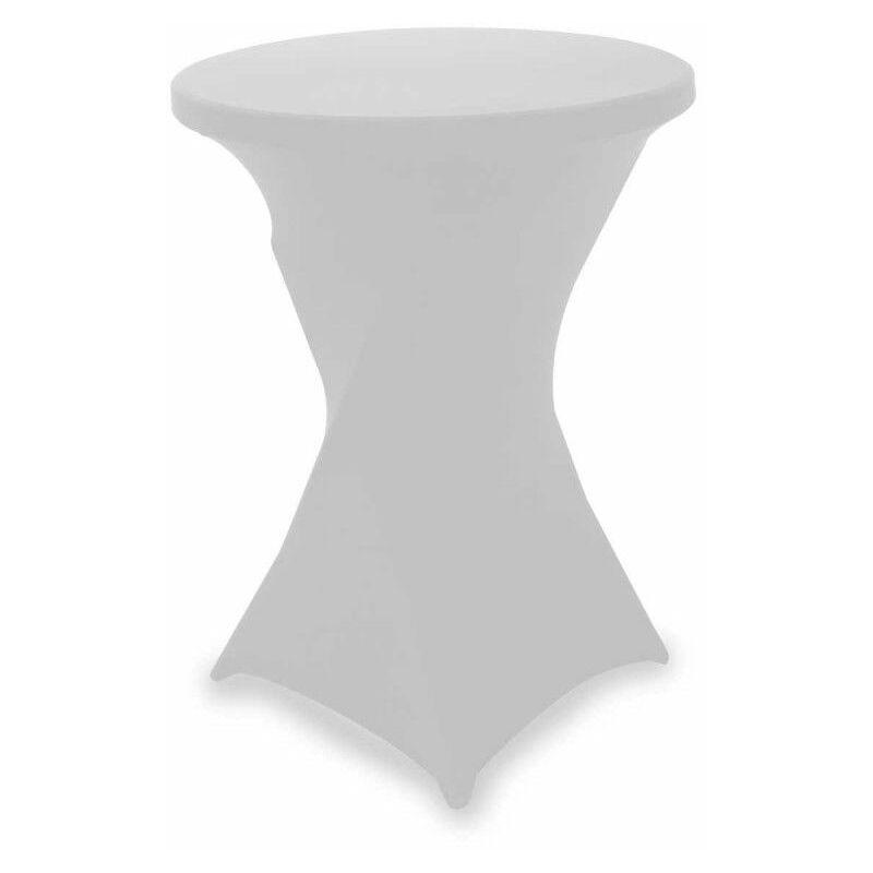Housse de mange debout blanche 80 x 110 cm