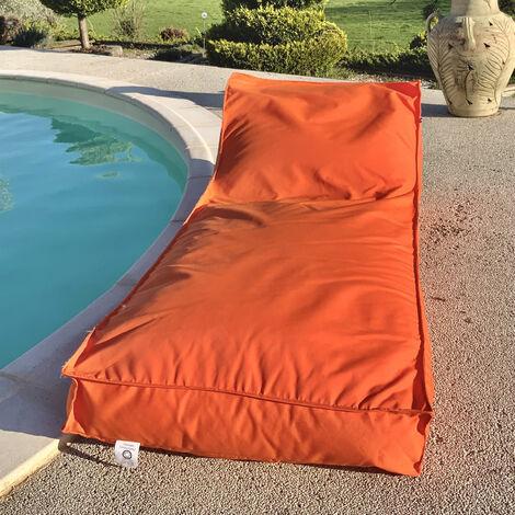 Housse de matelas bain de soleil Orange 160 x 65 cm - Orange