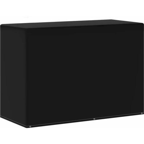 Housse de meuble de jardin 6 œillets pour barbecue 180x80x125cm