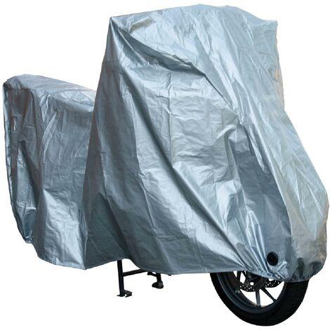 Housse de moto etanche - XXL Argent Generique