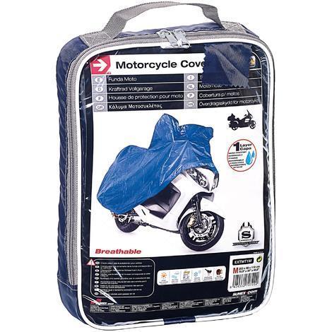 Housse de Moto Taille M 203x89x119cm Polyester Generique