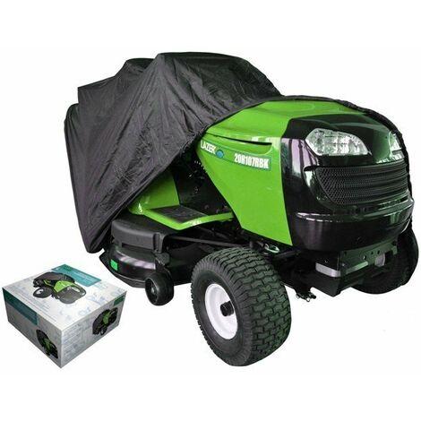 Housse de protection 203 x 127 x 137 cm pour tracteur tondeuse autoportée à éjection arrière
