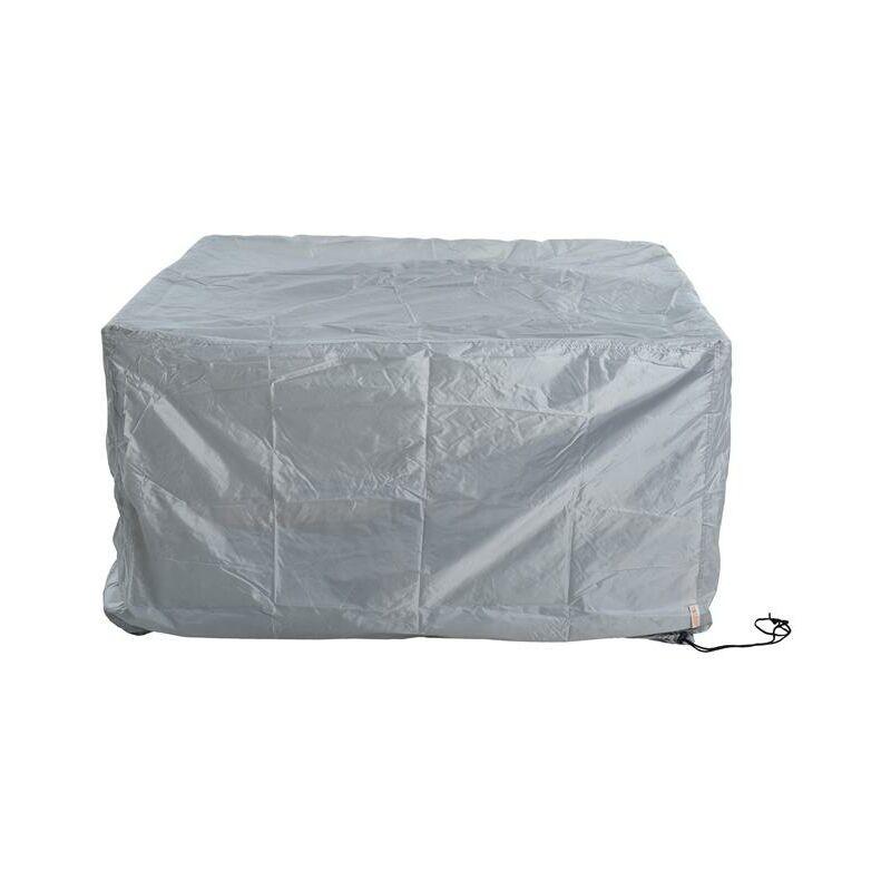 Housse de protection bâche de protection pour bâche de meubles en rotin de group 191x191x77cm