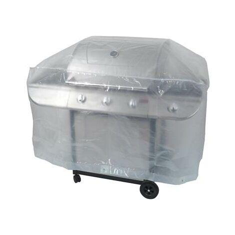 Housse de protection barbecue 130x70x80cm 90gr/m²
