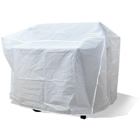 Housse de protection barbecue blanc