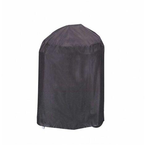Housse De Protection Barbecue ROND Haute Qualité polyester D 55 x h 70 cm Couleur Anthracite