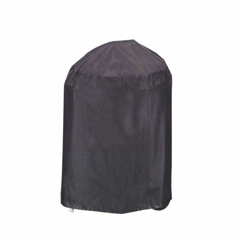 Housse De Protection Barbecue ROND Haute Qualité polyester D 55 x h 70 cm Couleur Anthracite - Anthracite
