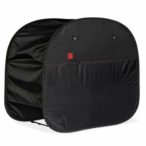 Housse de protection brevetée pour barbecue 170 x 60 x 120 cm Housse Pop'Up - Noir