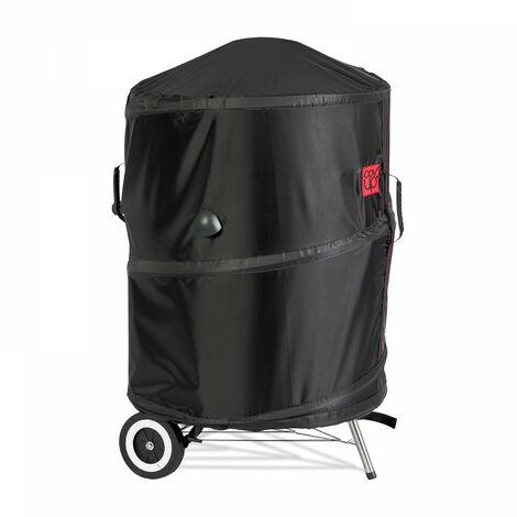 Housse de protection brevetée pour barbecue rond Ø57 x 72 cm - Noir