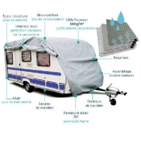 Housse de protection Caravane PVC 585x225x220cm