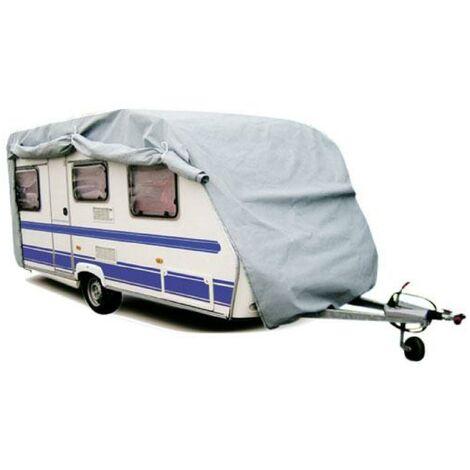 Housse de protection Caravane PVC - 585x225x220cm Generique