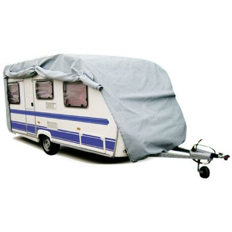 Housse de protection Caravane PVC - 645x225x220cm Generique