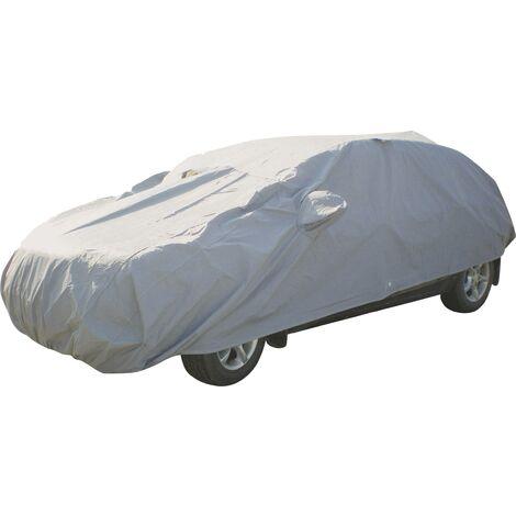 Housse de protection complète d'extérieur pour véhicules tricorps / à hayon, taille L HP Autozubehör 18257 (L x l x H) 483 x 178 x 120 cm A486461