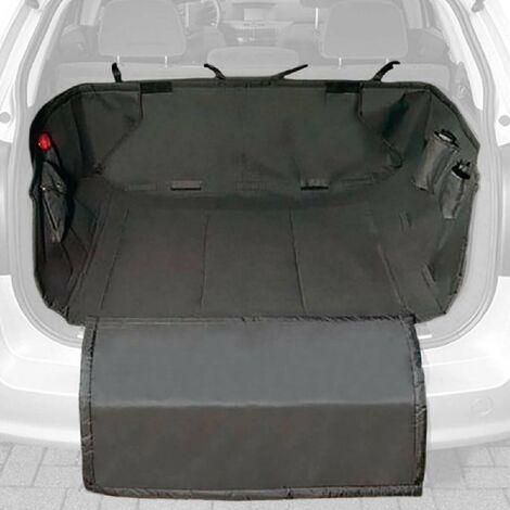 Housse de protection de coffre universelle compatible avec animaux 158x118x28cm Carplus