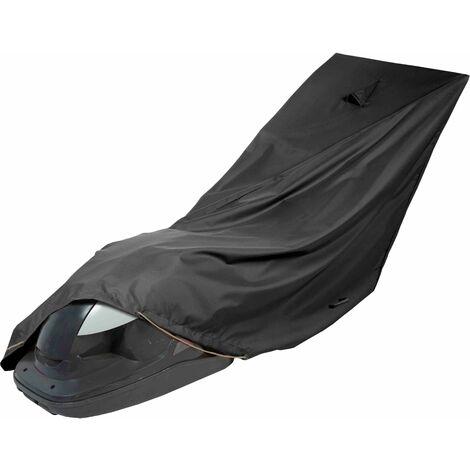 Housse de protection de tondeuse 190 x 60 cm Premium - Noir