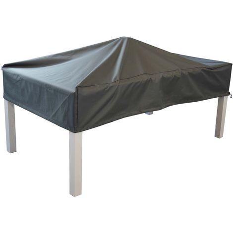 Housse de protection étanche pour table 200 x 100 cm - Gris