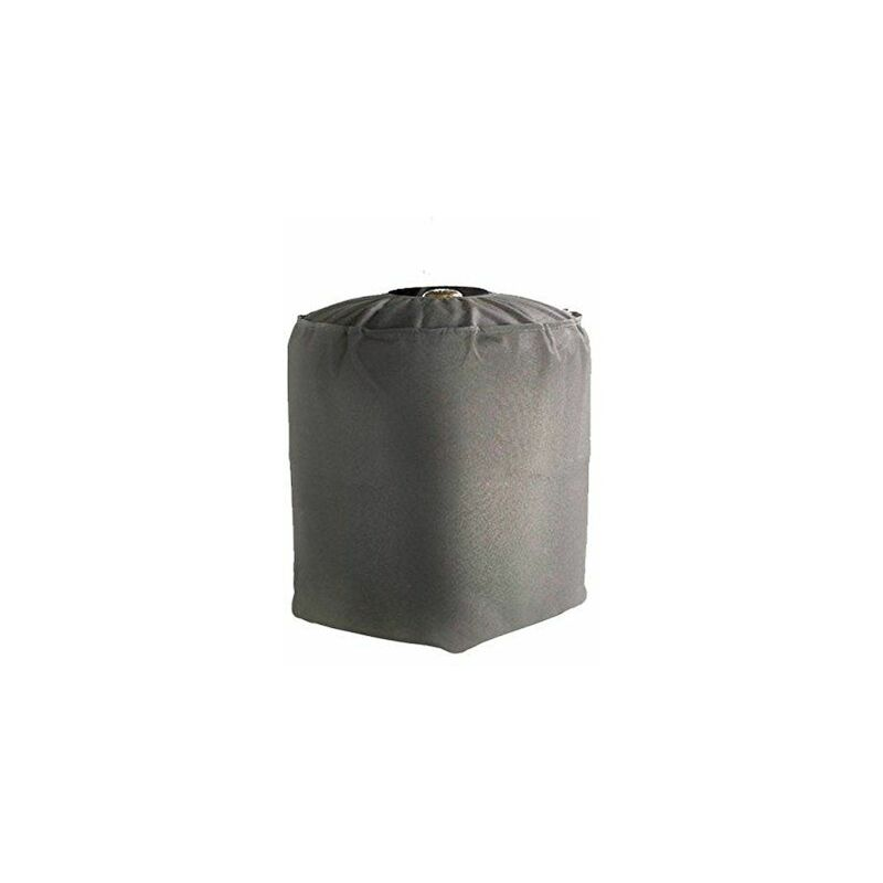 Housse De Protection imperméable Bouteille de gaz Haute Qualité polyester doublée PVC L 35 x l 35 x h 40 cm Couleur Anthracite - Anthracite