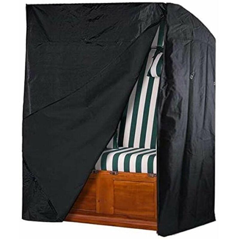 Langray - Housse de protection imperméable pour fauteuil-cabine de plage 135 x 105 x 175 x 140 cm