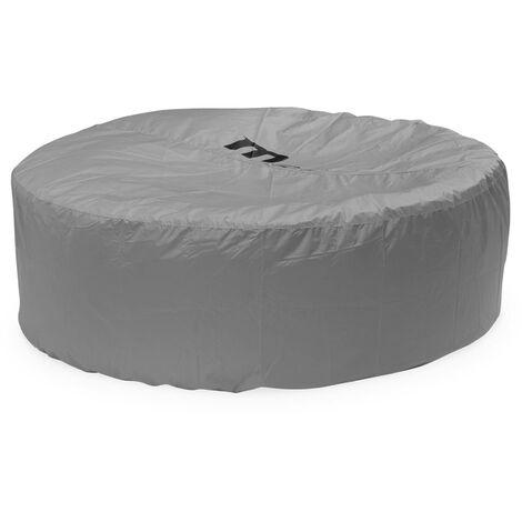 Housse de protection intégrale pour spa gonflable carré ou rond 6 personnes MSPA– Ø 215x70cm
