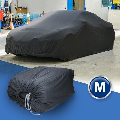 Housse de protection intérieur voiture couverture tissé gris 431 x 165 x 119 cm