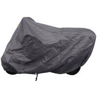 Housse de protection moto d'exterieur gris Polyester