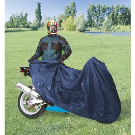 Housse de protection moto standard nylon Taille L, 229 x 99 x 125 cm