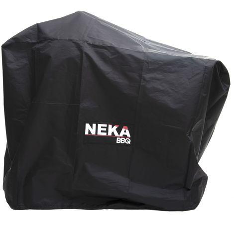 Housse de protection pour barbecue - L. 125 x H. 90 cm - Noir - Noir