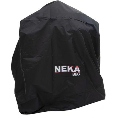 Housse de protection pour barbecue - L. 71 x H. 68 cm - Noir - Noir
