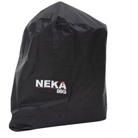 Housse de protection pour barbecue - L. 95 x H. 95 cm - Noir - Noir
