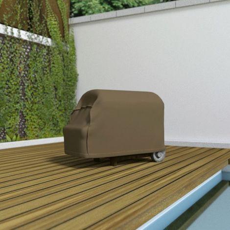 Housse de protection pour barbecue par Nortene - Taupe - Extérieur - Ajustable - Taupe